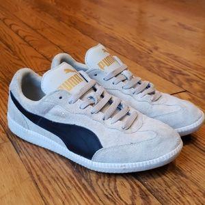 Puma Suede Gray Sneakers